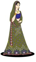 Indian Lehenga2 by Madhuchhanda
