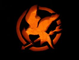 Hunger Games Pumpkin by SuperJule