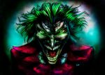 The Joker (colored) by kimgauge