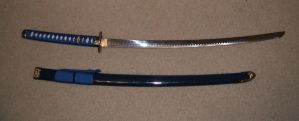Blue Katana 1 by themuseslibrary