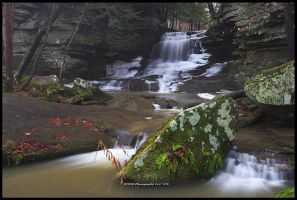 Honey Run Falls II by TRBPhotographyLLC