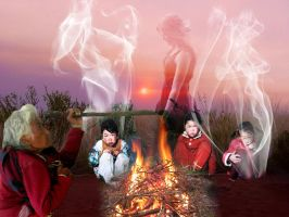 Campfire Ghost Stories by 3punkins