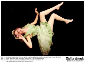 Falling Fraulein Fairy.2 by Della-Stock
