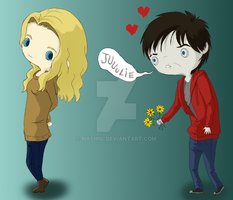 Warm Bodies Chibis by Nashiil