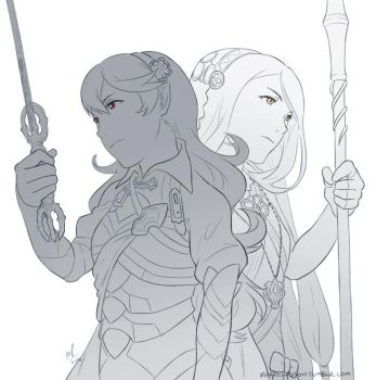 FE14 - Dawn and Dusk by MarvelPoison