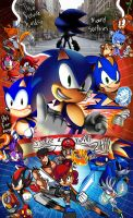Happy 24th Anniversary Sonic!! by miitoons