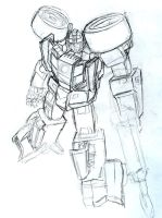 transformers: prowl sketch by beamer