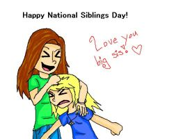 National Siblings Day! by pokemonpuppy1