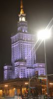 Palace of Culture and Science by Risandell