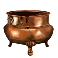 Cauldron  filled with Hot Chocolate by LeviathanDy