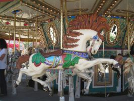 Carousel -11 by rachellafranchistock