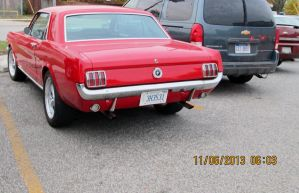 66 mustang pic 2 by catsvsfox