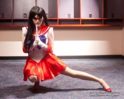 Super Sailor Mars cosplay by AkemiYukimura