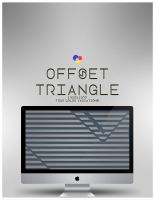 Offset Triangle Wallpaper Pack by Whiim