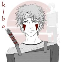 kiba head by mad-red-hat