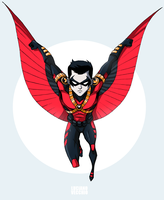 Red Robin by LucianoVecchio