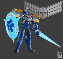 Animated Sentinel Prime by rattrap587