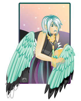 Angel Girl by acktacky