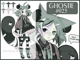 CLOSED ghostie auction by CHARIKO