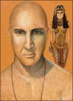 Imhotep by Fyrie