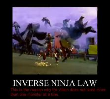 Law of Inverse Ninja by camilopezo