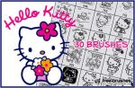 Hello Kitty Brushes by free-brushes