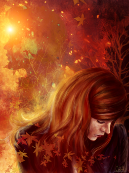 Amy's Autumn by andycwhite