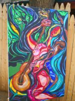 Colorful Surreal Painting 1 by MarTiaNOverLorD