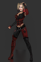 Injustice Gods Among Us - Harley Quinn [Arkham] by IshikaHiruma