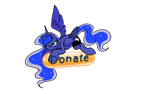 Luna donate button (free to use) by FrozenFarron