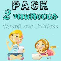 Pack Munequitas png by WandiLove