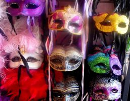 Stock: Masks by Stock-By-Michelle
