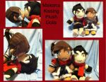 Makorra Kissing Plush Dolls by Nogoshi64