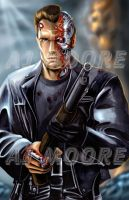 T-800 Terminator-by AJ Moore by GudFit