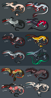 Adoptables by atomicfiction