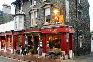 Cafe in Keswick - 1 by wildplaces