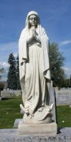 Mount Olivet Cemetery Mary 21 by Falln-Stock