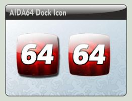 AIDA 64 Dock Icon by LustaufMeer