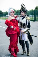 Jane and Astaroshe - Trinity Blood by YoukaiYuurei