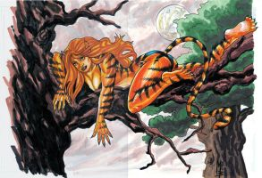 Tigra Commission by montrosity