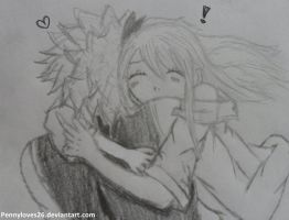 Natsu!! I missed you! by Pennyloves26