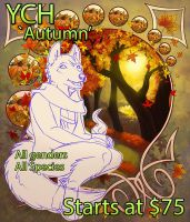 Checkout Ralloonx's Autumn YCH ! by lady-cybercat