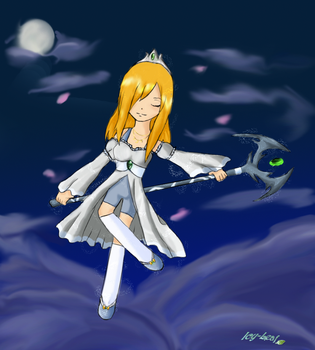 Moonlight Sky  - 1st place CP by Icy-leaf