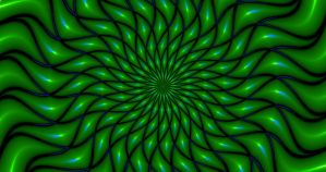 Pulsation Contraction - Peripheral Drift Illusion by H-Flaieh