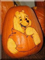 Pooh's Halloween by picworth1000wrds
