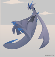 [Commission]Cobalt lugia by warden006