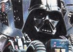 Star Wars G7 - Darth Vader Sketch Art Card 1 by DenaeFrazierStudios