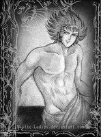 Artistic pose - Deathmask by Mistic-Ladies