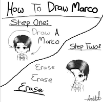 How To Draw Marco by 0BubbleTea0