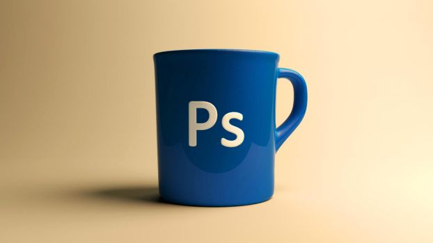 Photoshop cup by Inobelar